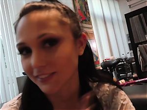 hottie Ariana Marie smashed in pov