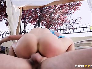 costume play cock loving cougar Cherie Deville smashed stiff in the bootie