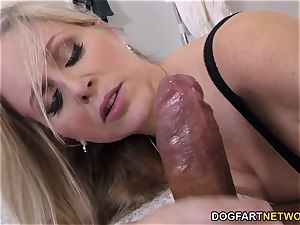 cougar doctor Julia Ann Cures dark-hued spear