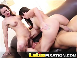 LatinFixation warm 3some with Sophie Dee