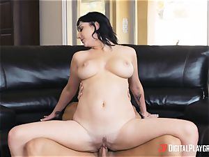 milf gets creamed on her face by her daughters-in-law boyfriend