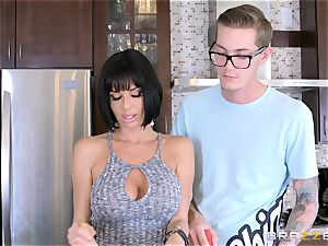 kinky mom Veronica Avluv nailing her sonnies insatiable buddy