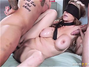 killer manager Julia Ann gets a double creaming