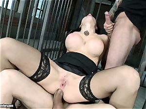 spunky sizzling Aletta Ocean gets a crevasse spreading penetrate she always dreamed and craved