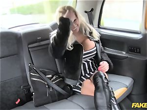 fake cab pornstar makes debut in london cab