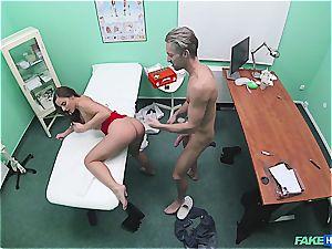 Hidden webcam hook-up in the doctors office