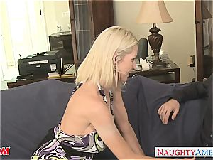 eager Emma Starr shares her practice with James Deen
