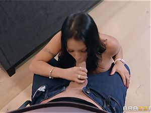 Julianna Vega is super insatiable and needs to be plowed