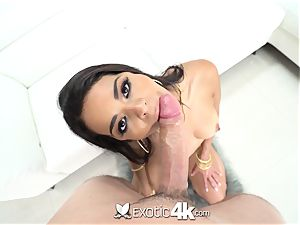 Exotic4k Latina Vienna dark-hued jiggly humid muff romped