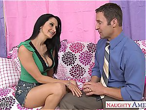 beautiful Ava Addams always ready for a excellent porking