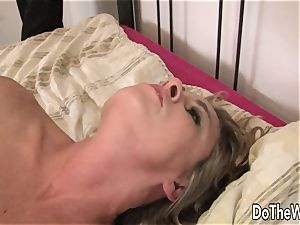 milky wife slit black guy pecker and facial cumshot