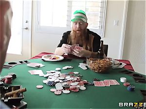Sarah Jessie fuckin' her hubbies poker buddy