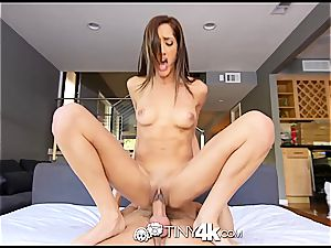 petite Chloe Amour takes dick deep