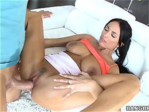 uber-sexy mature sweetheart Anissa Kate humped in her sphincter