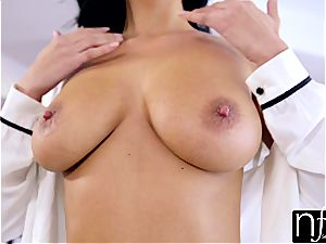 NF big-boobed - Anissa Kates hefty globes Make large man meat jizz