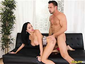Victoria June picked up by draped Johnny and fucked in her sugary-sweet labia