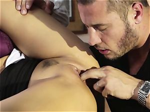Asa Akira cheats in her buddies ultra-kinky desire