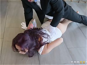 Monique Alexander railing rigid on top