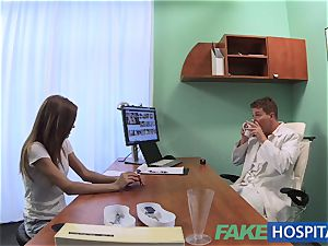 faux health center doc pokes patients tight coochie