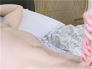 AgedLovE big-titted Lacey Starr gonzo and blow-job