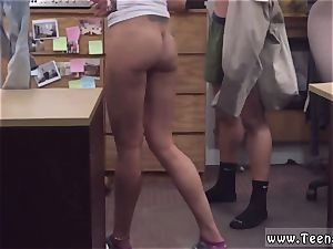 damsel agent xxx first time immense tit Latina is a mega-bitch for some cash