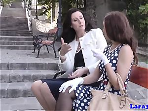 glamour brit pussyrubbed over mummies lap