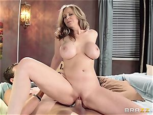 Julia Ann demonstrates her sons-in-law acquaintance a excellent time
