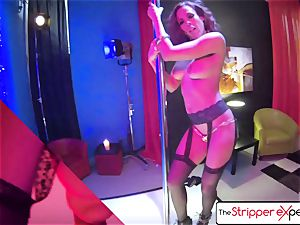The Stripper experience - Luna starlet her raw tight labia
