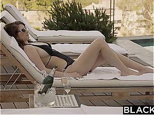 BLACKED gf Karina white Cheats with bbc on Vacation