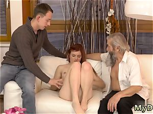 fledgling daddy dom unexpected experience with an senior gentleman