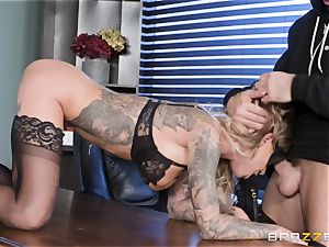 Karma Rx takes cooter poked in the office