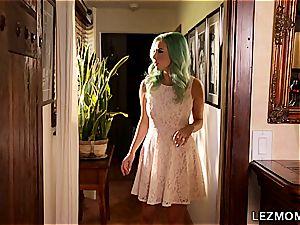 Jelena Jensen and Lana Rhoades in a lezzie episode