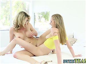 lesbo scissors with teenage
