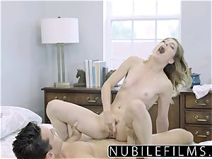 NubileFilms - Day Dreaming About pipe Till She shoots a load