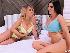 Bridgette B and Jasmine Jae Tell luxurious Stories