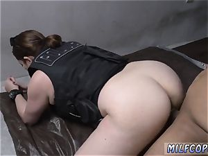 light-haired milky underwear ass-fuck very first time Purse Snatcher Learns A Lesboss s son