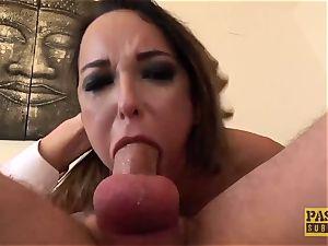 PASCALSSUBSLUTS - stunner Francys Belle penetrates rectal maledom