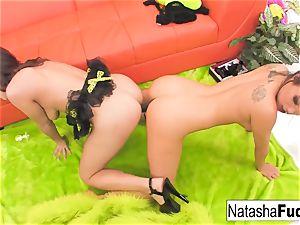 Natasha's 1st rectal with Asa