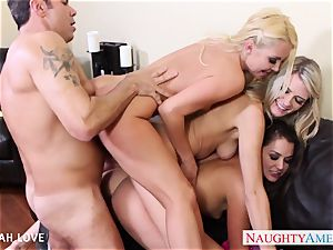 stellar Aaliyah love boinking in fourway