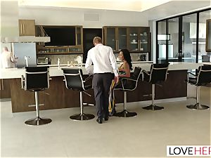 LoveHerFeet - Sneaky cuckold foot romp With The Realtor