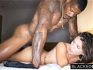 BLACKEDRAW hotwife gf hooks up with ebony man