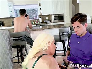 Family caught Step mommy s fresh screw plaything