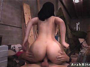 Arab bi-atch very first time rod desires!
