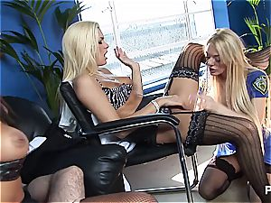 Natasha and her girlfriends tearing up a stud