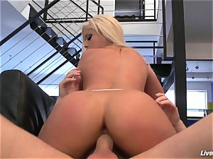 LiveGonzo Bridgette B chesty honey luving bang-out
