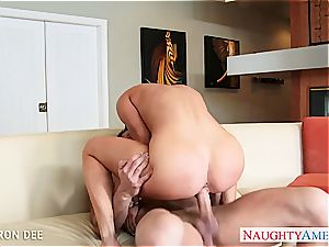 huge-chested stunner Cameron Dee gets facialized