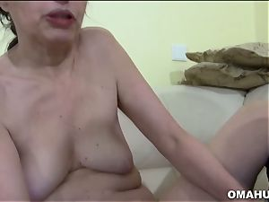 Mature granny loves to shag firm with fuck stick