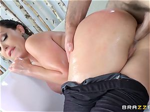 Nikki Benz rectally pummeled deep by Charles Dera