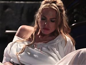 Keira Nicole takes a man meat battering in this cool parody
