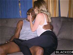 BLACKEDRAW gf Surprises Her beau By humping The biggest bbc In the WORLD